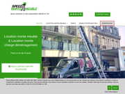Speed Monte Meuble - Location de monte meuble