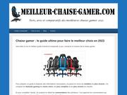 Guide d'achat et comparatif des meilleures chaises gamer