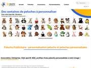 Achat Peluche Publicitaire - Personnalisation Peluche.