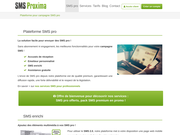 Campagne SMS : plateforme d'envoi