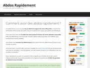 Abdos Rapidement - La solution pour avoir les abdominaux