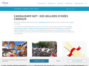 Profitez de la plateforme Cadeau Zapp pour dénicher les meilleures idées cadeaux