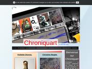 Chroniquart est un site de présentation d'artistes en arts visuels de partout.