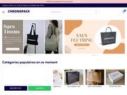 Chronopack : pour la confection de vos emballages personnalisés