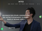 Magicien mentaliste Paris : Hiro Magie