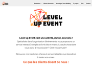 Level Up Event - Organisation et animation d'évènements