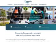 Groupe Propertis, propreté et services associés en Ile de France