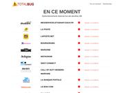TotalBug, suivi des pannes et bugs