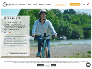 Reine Bike : vélo électrique Français multi-talents