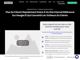 Webaudit France - Créateur site Internet VTC et Taxi