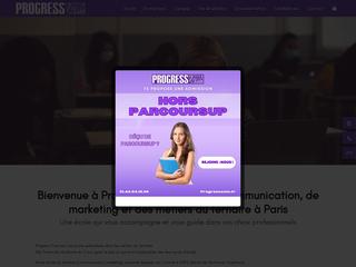 Progress Com - École Communication, commerce et finance Paris